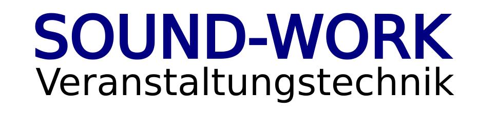 SOUND-WORK Veranstaltungstechnik